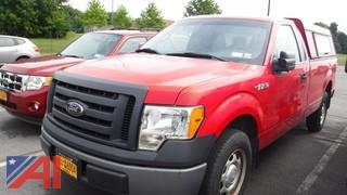 2012 Ford F150 Pickup Truck with Cap