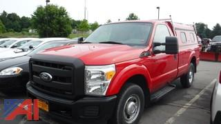 2012 Ford F250 XL Super Duty Pickup Truck with Cap
