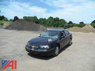 2005 Chevy Impala Sedan/Police Emergency Vehicle