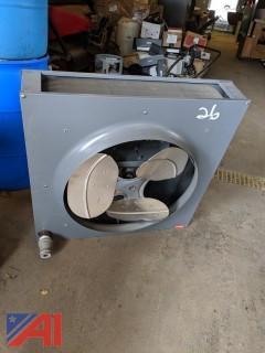 Dayton Steam/Hot Water Unit Heater & Blower