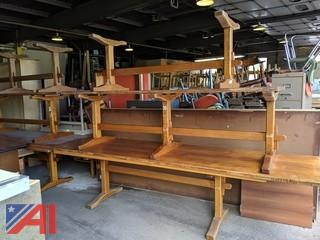 Stickley Cherry Valley Trestle Tables