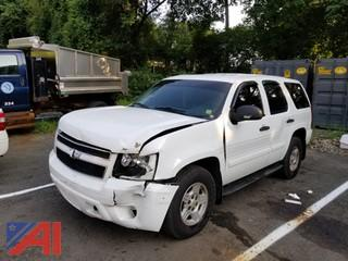 2008 Chevy Tahoe SUV/Police Emergency Vehicle