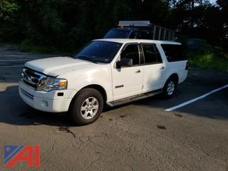 2008 Ford Expedition SUV/Police Emergency Vehicle