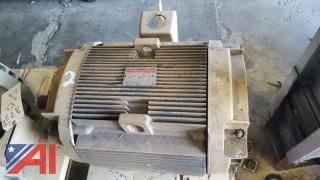 GE 3-Phase Electric Motor
