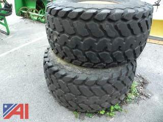 Weighted Calcium Filled Tires