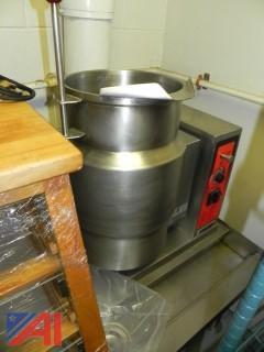 Pasta Tilt Steam Kettle with Stand