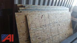 4'x 8' Particle Board Sheets
