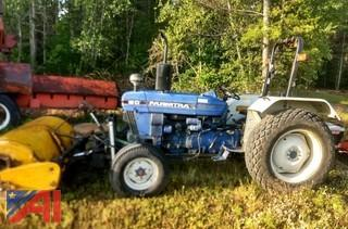 2000 Farmtrac 60 Tractor with Sweeper Broom