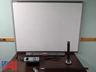 Smart Board With Projector