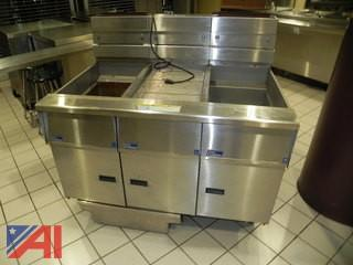 Twin Pitco Frialator SG14-S Natural Gas Fryer