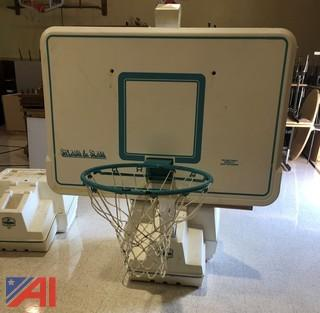 Basketball Hoops For The Swimming Pool