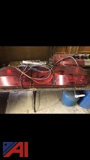 Red Halogen Bar Lights and Accessories
