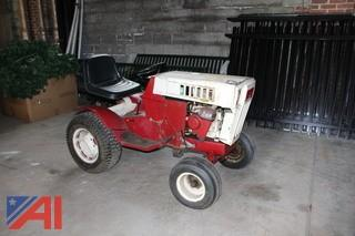 Sears Tractor with Snow Blower Attachment