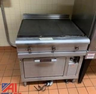 GE Electric Flat Top Stove and Oven