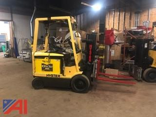 Hyster 5,000 Lb. Electric Forklift