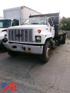 1991 GM Kodiak Flat Bed Truck
