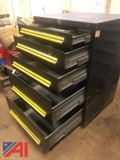 Stanley Vidmar Heavy-Duty Five-Drawer Tool Cabinet