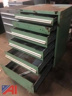 Stanley Vidmar Heavy-Duty Six-Drawer Tool Cabinet