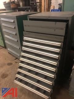 Stanley Vidmar Heavy-Duty Eleven-Drawer Tool Cabinet