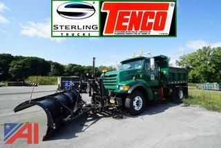 2000 Sterling L9000 Tenco All Season Dump Body and Plow Truck/HT4