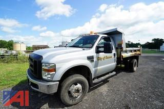 2008 Ford F350 XL Super Duty Dump Truck