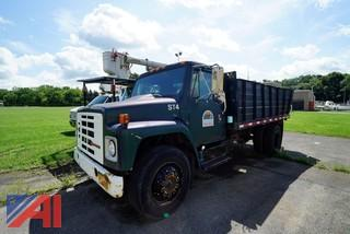 1989 International 1754 Tilting Stake Body Truck