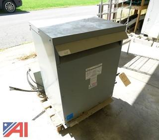Federal Pacific 75 KVA General Purpose Transformer