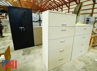 File Cabinets & Desks