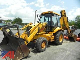 1998 JCB Sitemaster Backhoe with Extend-A-Hoe and Front Bucket