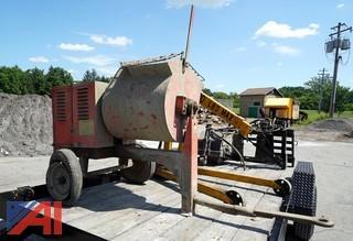 Essick S60B12 Pull Behind Mortar Mixer