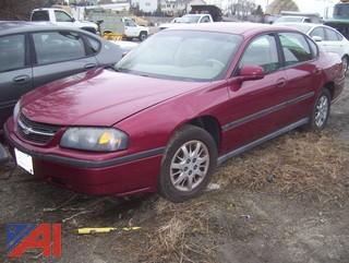 2005 Chevy Impala Sedan (Parts Only)