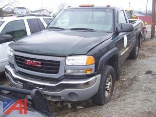 2006 GMC Sierra 2500HD Pickup Truck