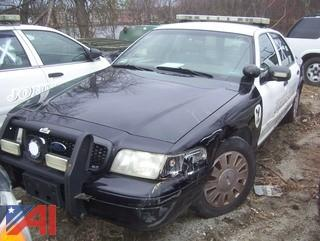 2010 Ford Crown Victoria 4 Door/Police Interceptor (Parts Only)