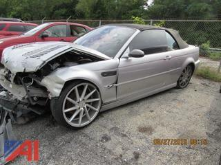 2003 BMW M3 Convertible (Parts Only)
