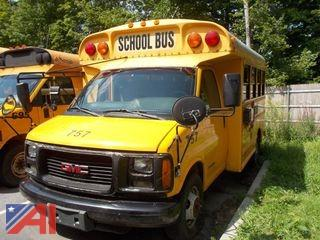 2001 GMC Savana 3500 Mini School Bus
