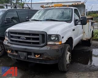 2002 Ford F450 XL Super Duty Dump Truck