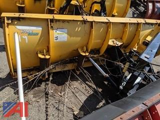 8' Fisher Stormguard Plow & Frame