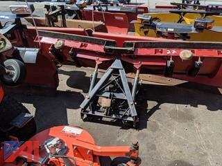 8.5' Western V-Plow & Frame