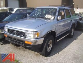 1995 Toyota 4 Runner SUV