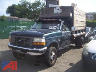 1997 Ford F350 Dump Truck
