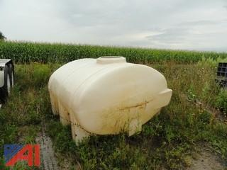 1,000 Gallon Plastic Water Tank