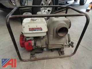 "Honda 4"" WT40X Water Pump"