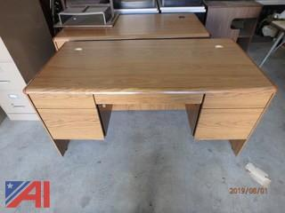 Plain 6' Wood Desks