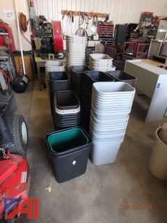 Assorted Waste Baskets
