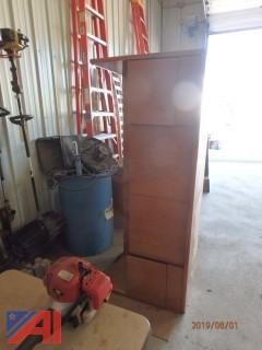 6' Wood Hutch