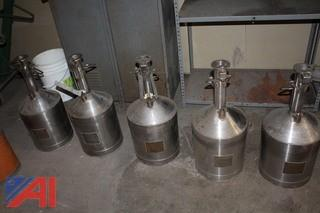 Five Gallon Stainless Steel Provers