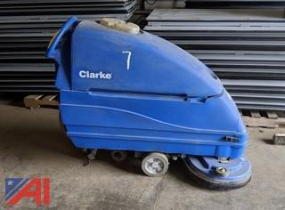 Clarke Floor Machine