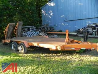 1979 Peabody 16' x 6' Trailer with Ramps