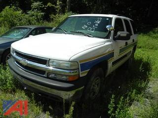 2005 Chevy Tahoe SUV/Police Emergency Vehicle