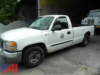 2004 GMC Sierra 1500 Pickup Truck with Lift Gate